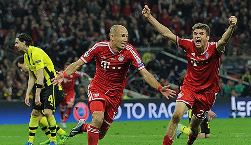 En la última final de Champions jugada, Arjen Robben anotó finalizando el partido, ¿En qué minuto?
