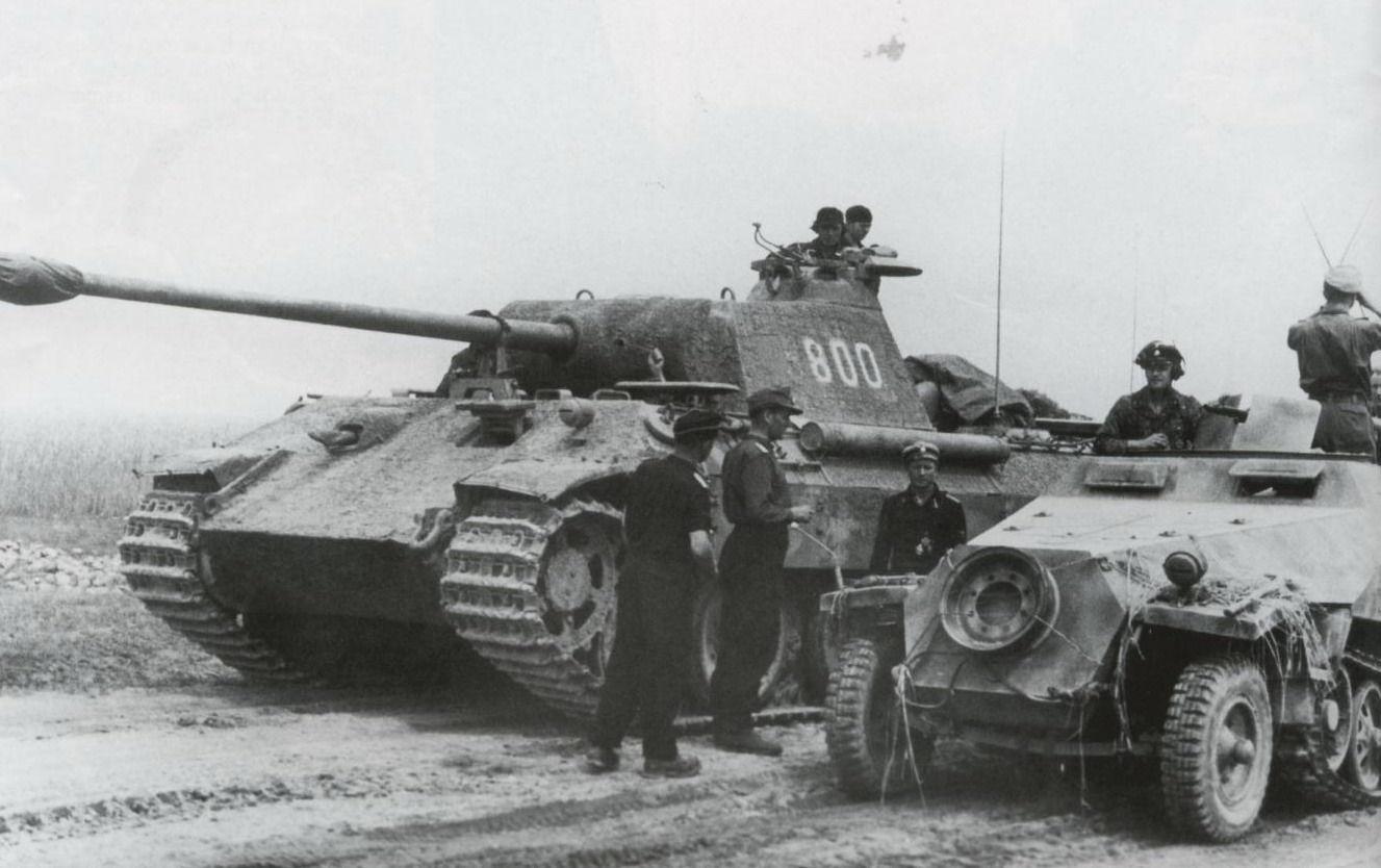 11025 - Vehículos alemanes de la Segunda Guerra Mundial (1º)