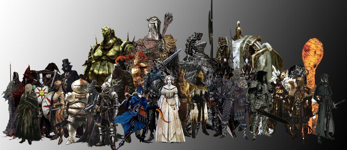 11037 - ¿Conoces a estos personajes de Dark Souls?