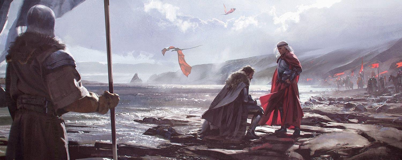 La guerra comenzó con el desembarco de Aegon en el año ...