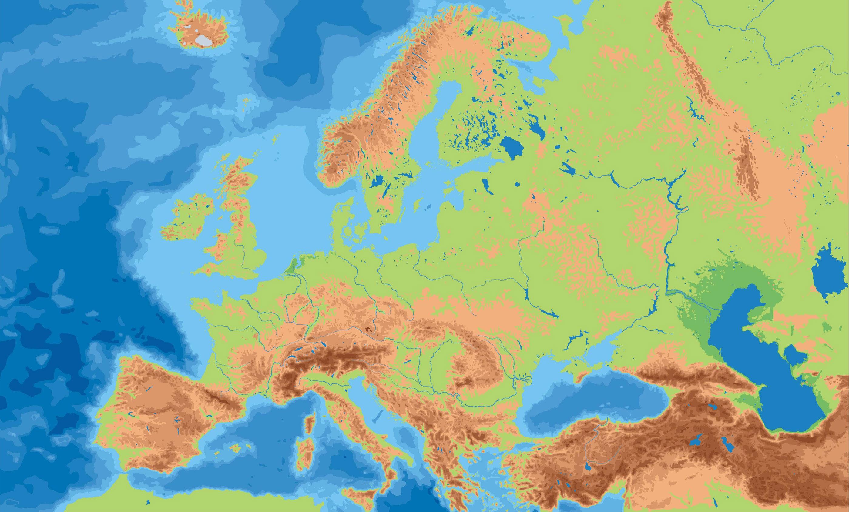 ¿De cuántos países consta Europa?