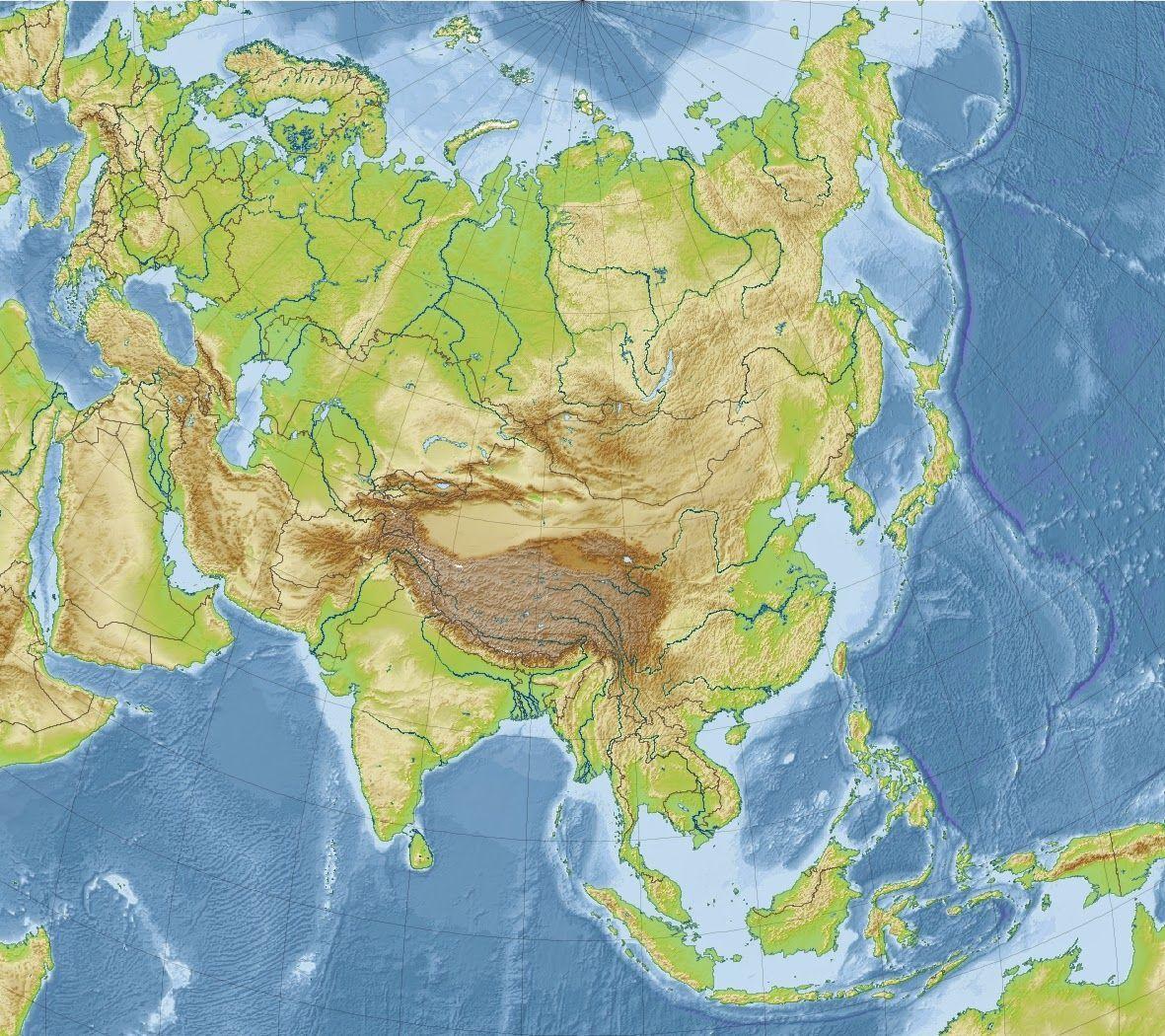 ¿Y de cuántos países consta Asia?