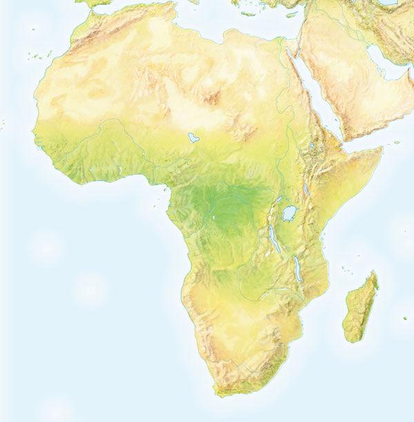 ¿Cuántos países se hallan en África?