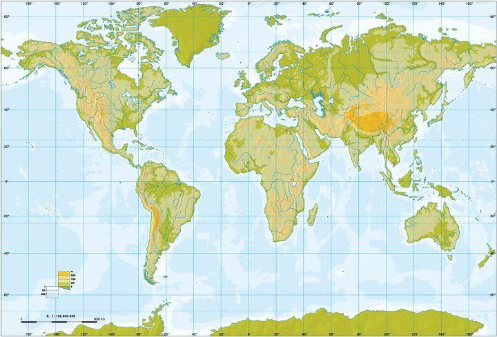 ¿Cuántos países existen en el mundo?