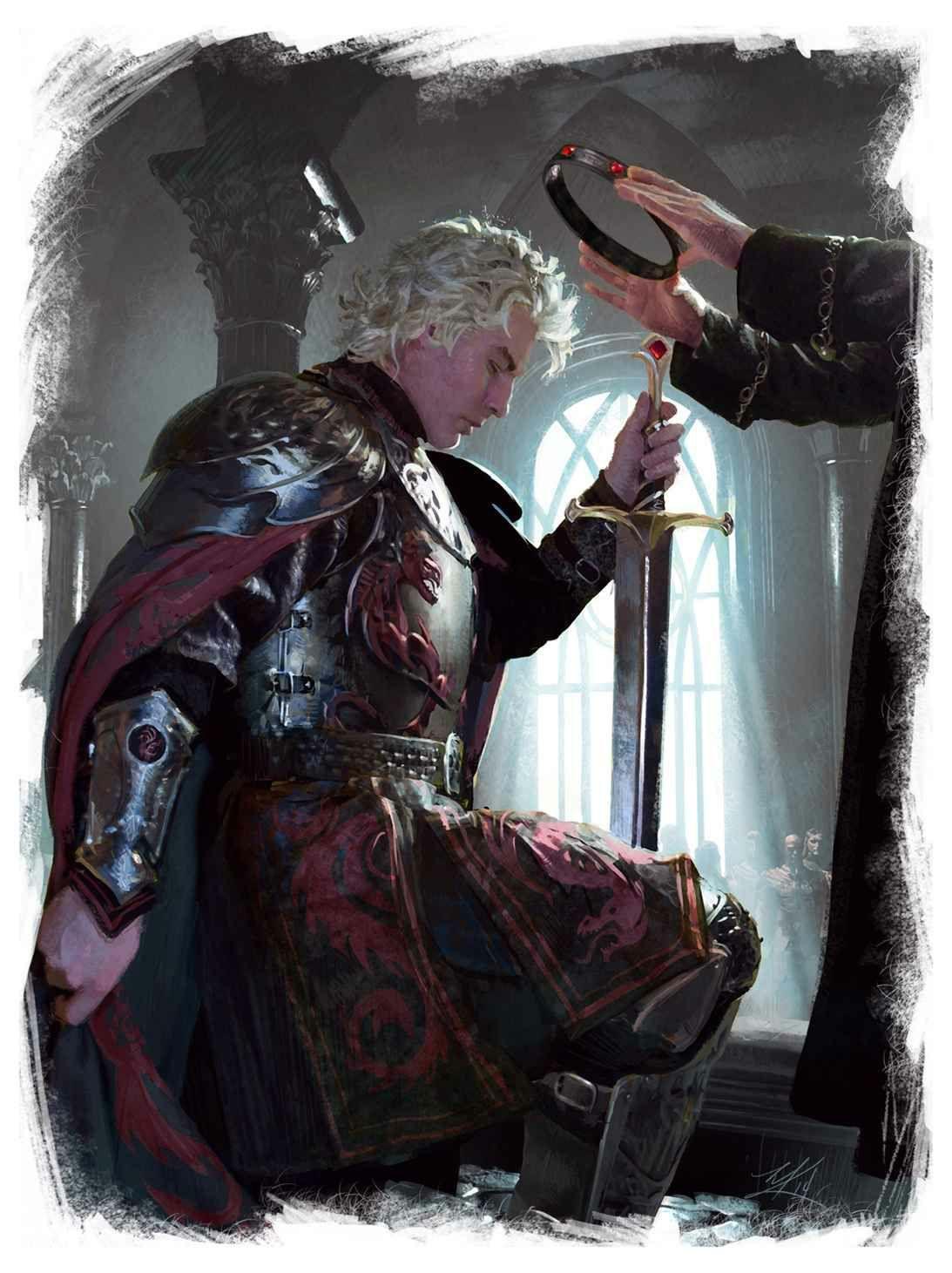 Aegon fue coronado en el año...