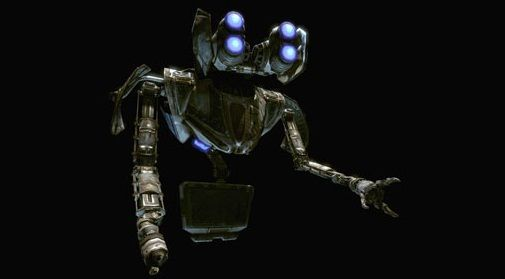 ¿Cómo se llama el robot ayudante del pelotón Delta?