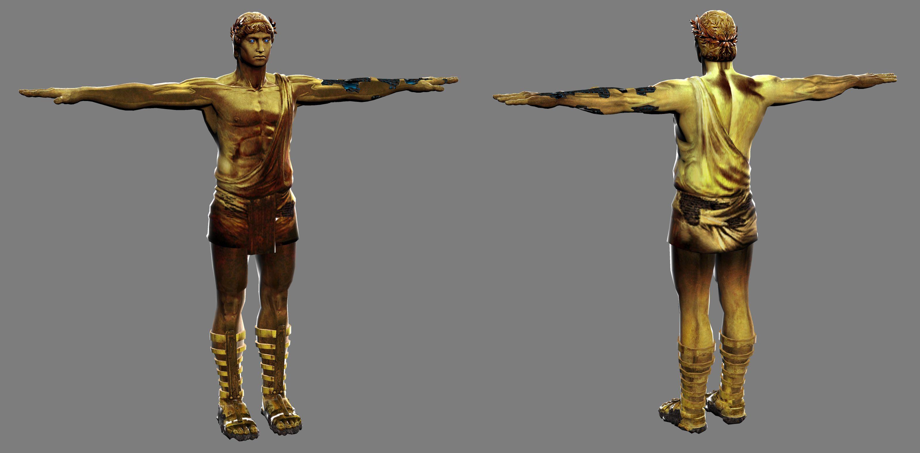 El coloso de Rodas representa a.... y aparece en....?