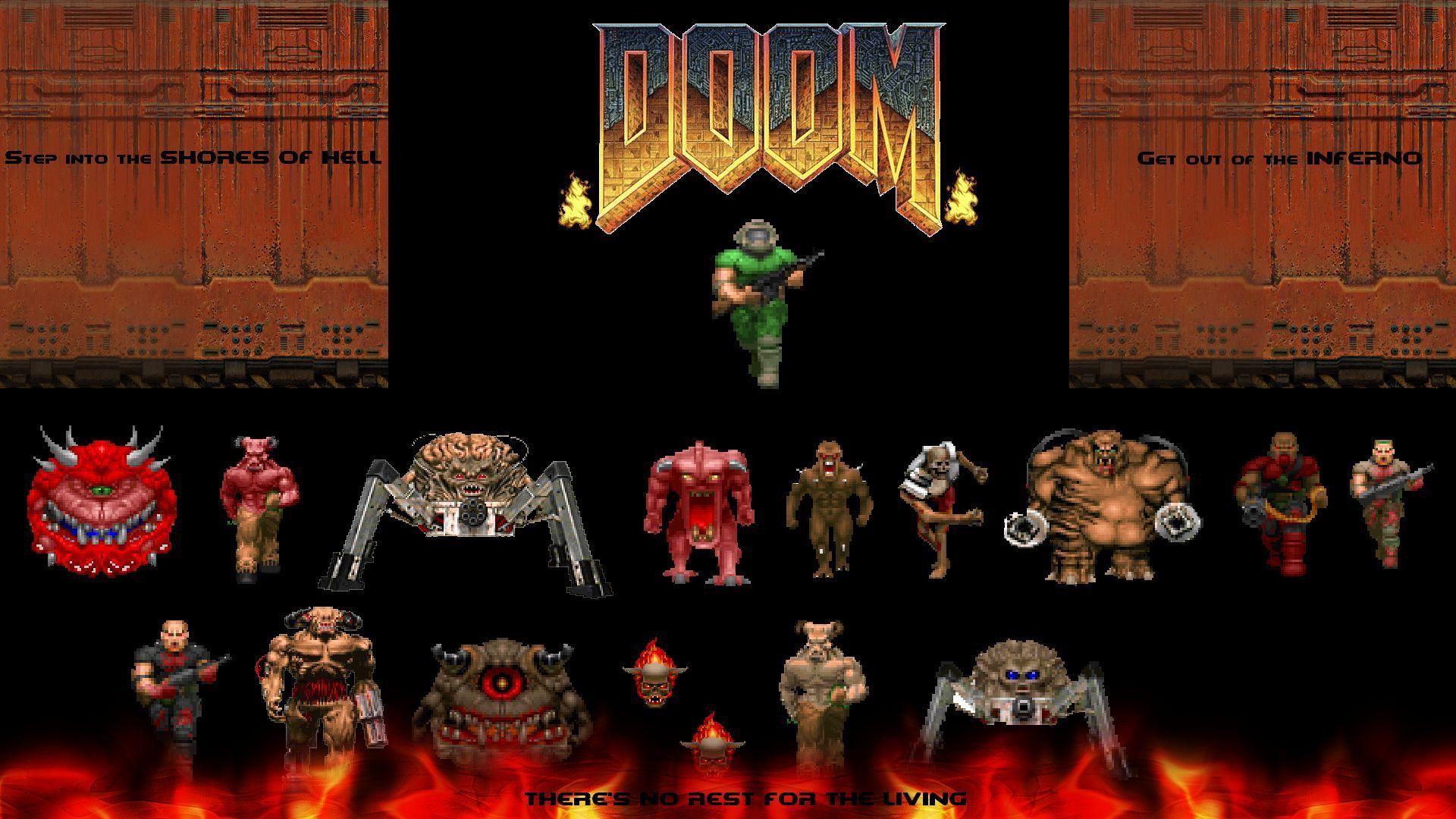 11171 - ¿Cuántos demonios de DooM reconoces?