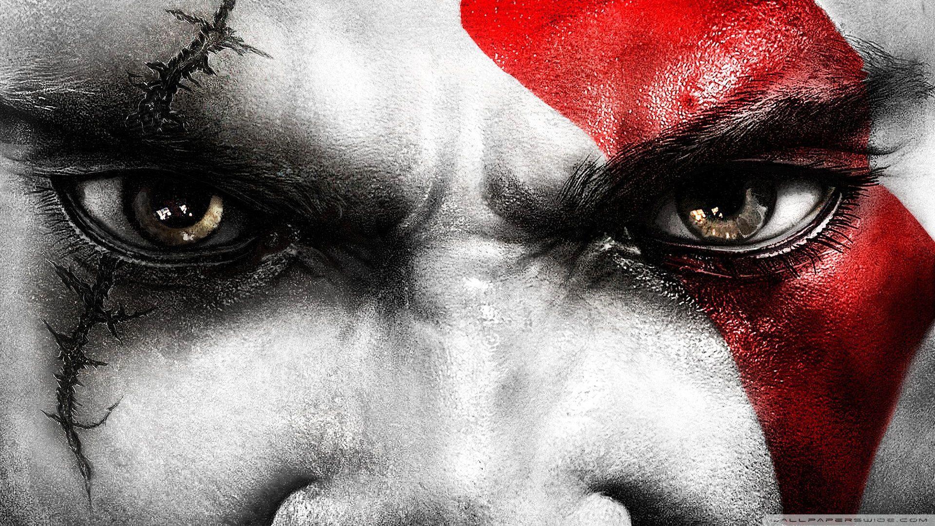 La palidez de Kratos le hizo ganarse su apodo de