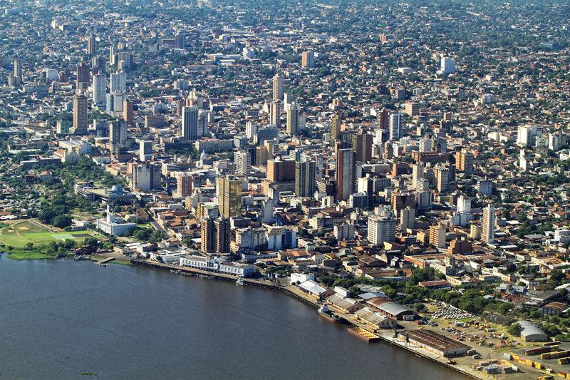 ¿Podrías decir cuál de estas ciudades es la capital del Paraguay?