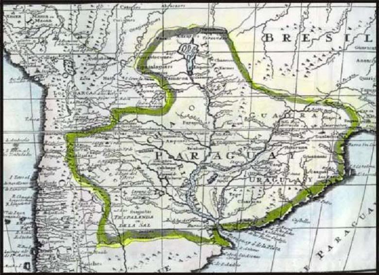Bolivia junto con Paraguay son los países de Sudamérica que actualmente no tienen mar. ¿Lo tuvo este último alguna vez?