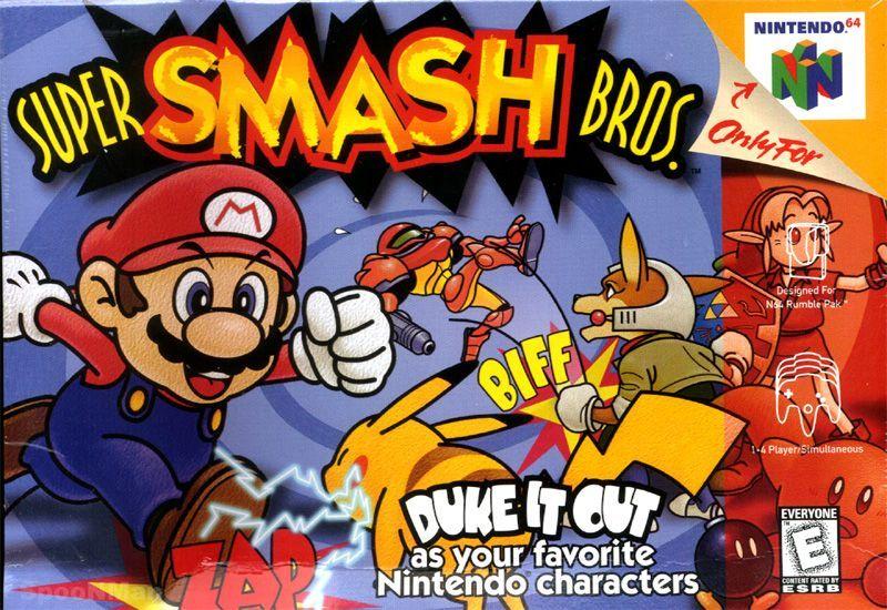 ¿Cuántos luchadores tenía el Smash Bros original?