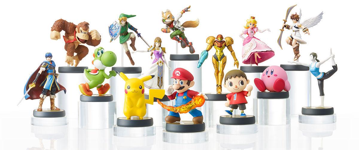 ¿Cómo se llaman las figuritas lanzadas con el útimo Smash Bros?