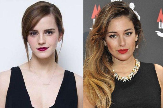 ¿Miden lo mismo Emma Watson y Blanca Suárez?
