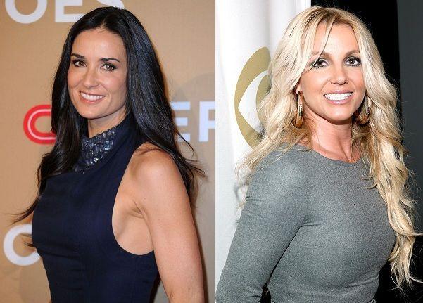 ¿Miden lo mismo Demi Moore y Britney Spears?