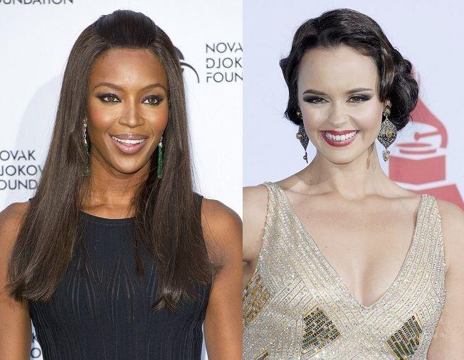 ¿Miden lo mismo Naomi Campbell y Shaila Dúrcal?