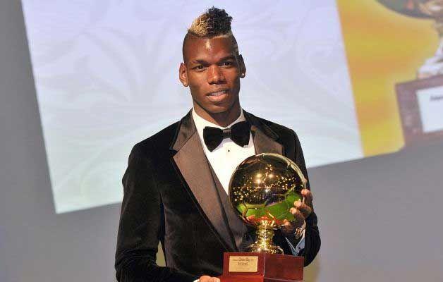 ¿En qué año ganó Pogba el galardón 'Golden Boy'?