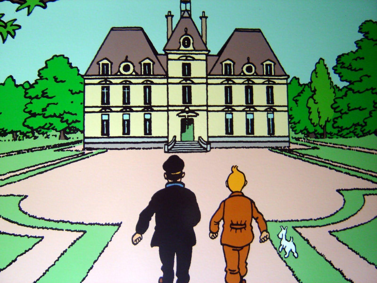 ¿Qué aventura tiene lugar exclusivamente en el Castillo de Moulinsart?
