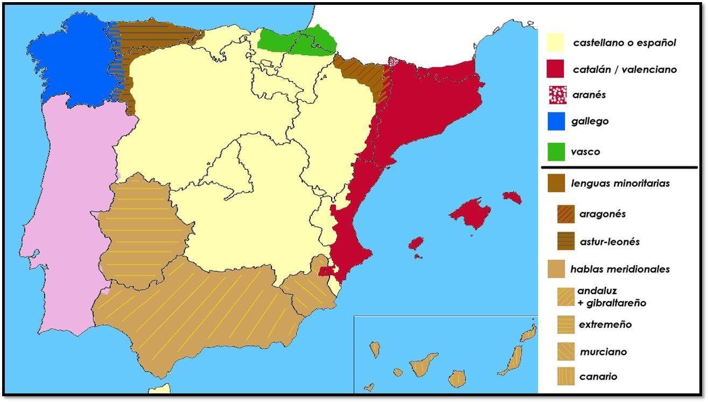 ¿Qué posición ocupan para ti las lenguas cooficiales de España?