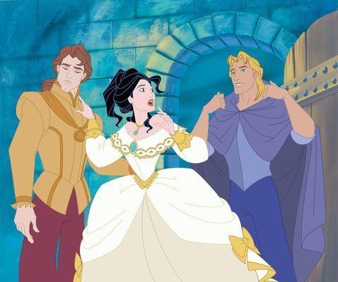 En Pocahontas II: Viaje a un Nuevo Mundo, ¿ con quién termina Pocahontas?