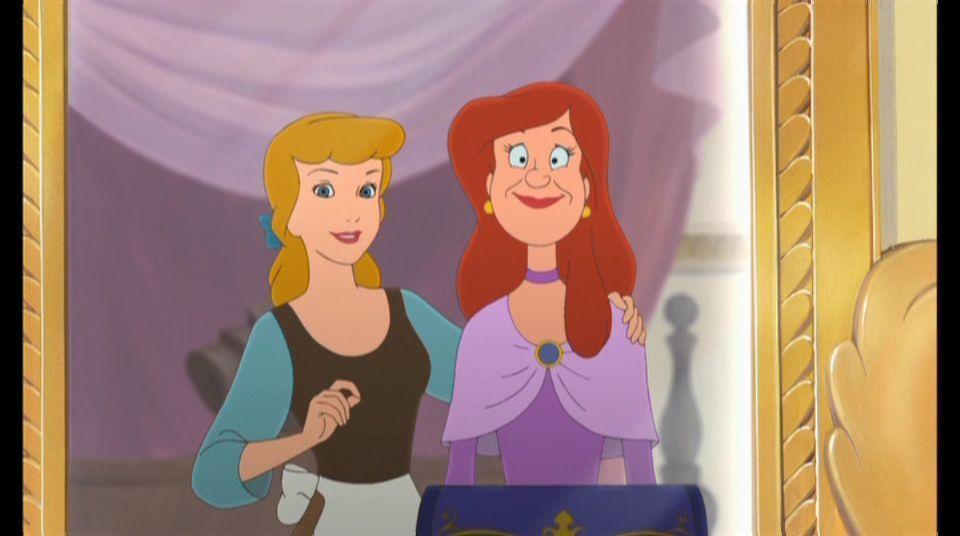 En la Cenicienta 2, ¿De quién se enamora Anastasia?