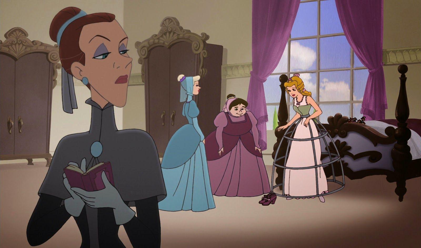 En la Cenicienta 2, ¿Cómo se llama la tutora que esta encargada de enseñar a Cenicienta a ser una princesa?