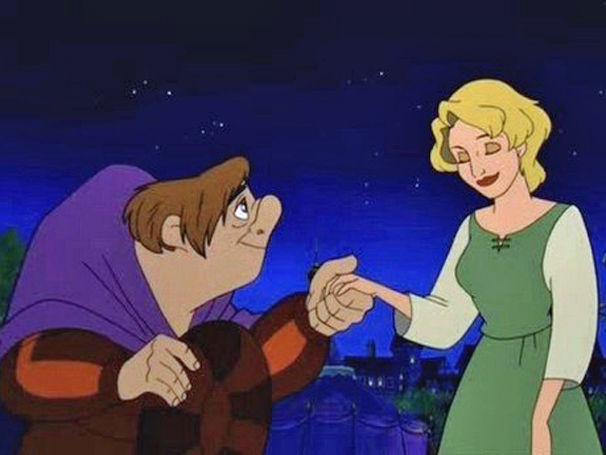 En El jorobado de Notre dame 2, ¿Cómo se llama la chica de la que se enamora Quasimodo?
