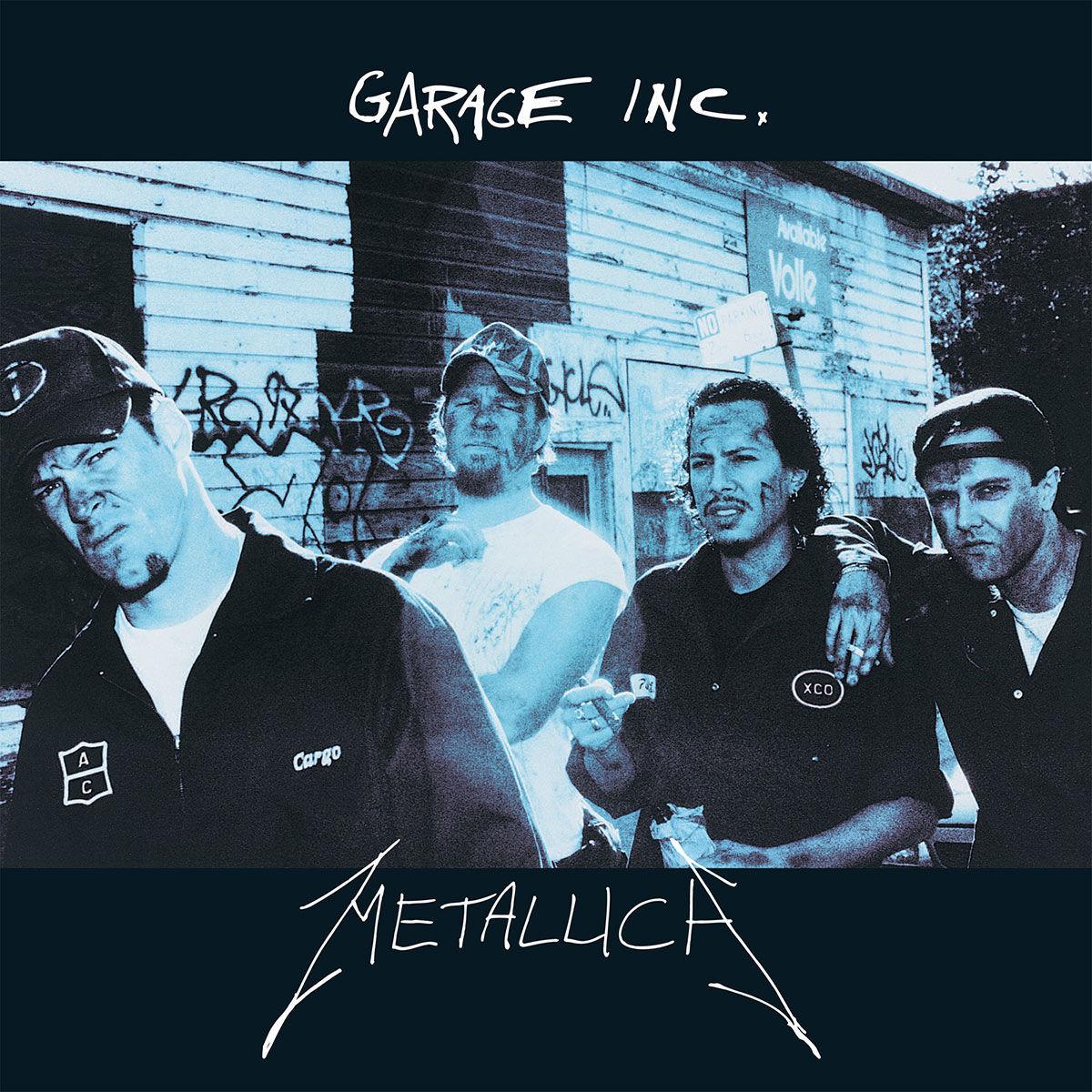 ¿A cuál de las siguientes bandas NO ha sido versionada en el disco Garage Inc.?