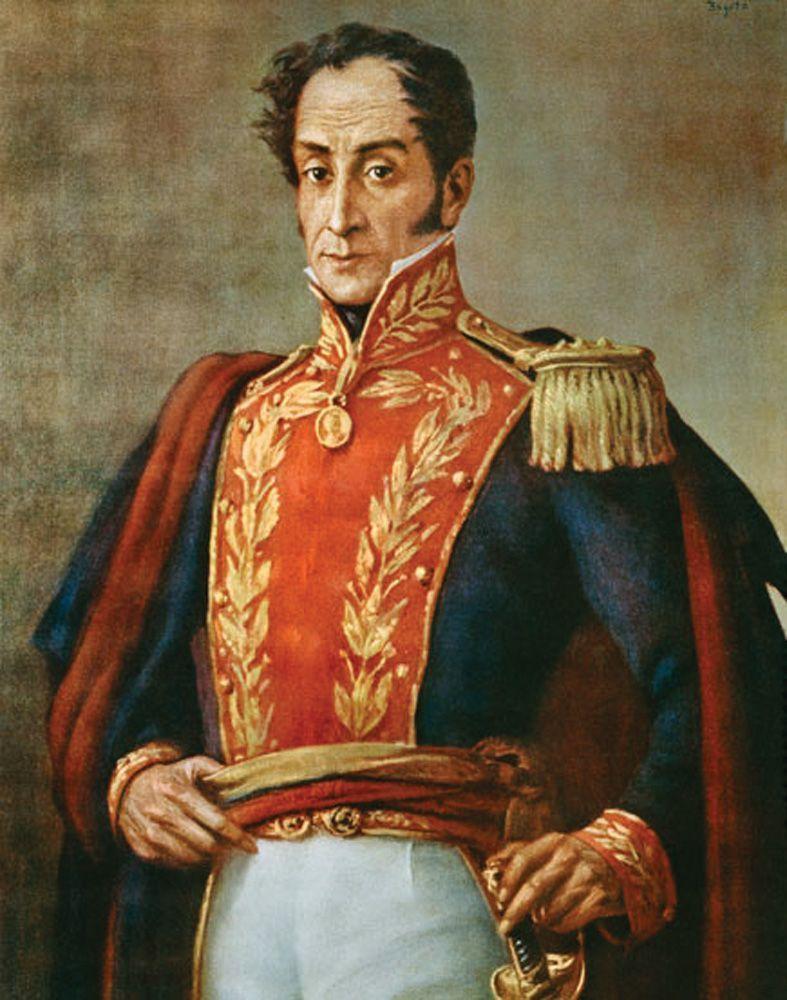 ¿Cuál es el país natal de Simón Bolívar?