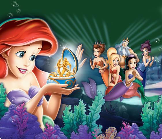 En la Sirenita 3, ¿Qué prohíbe el Rey Tritón?