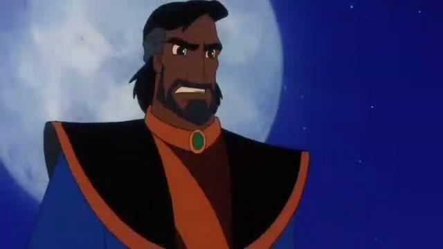 En Aladdin 3, ¿Cómo se llama el padre de Aladdin?