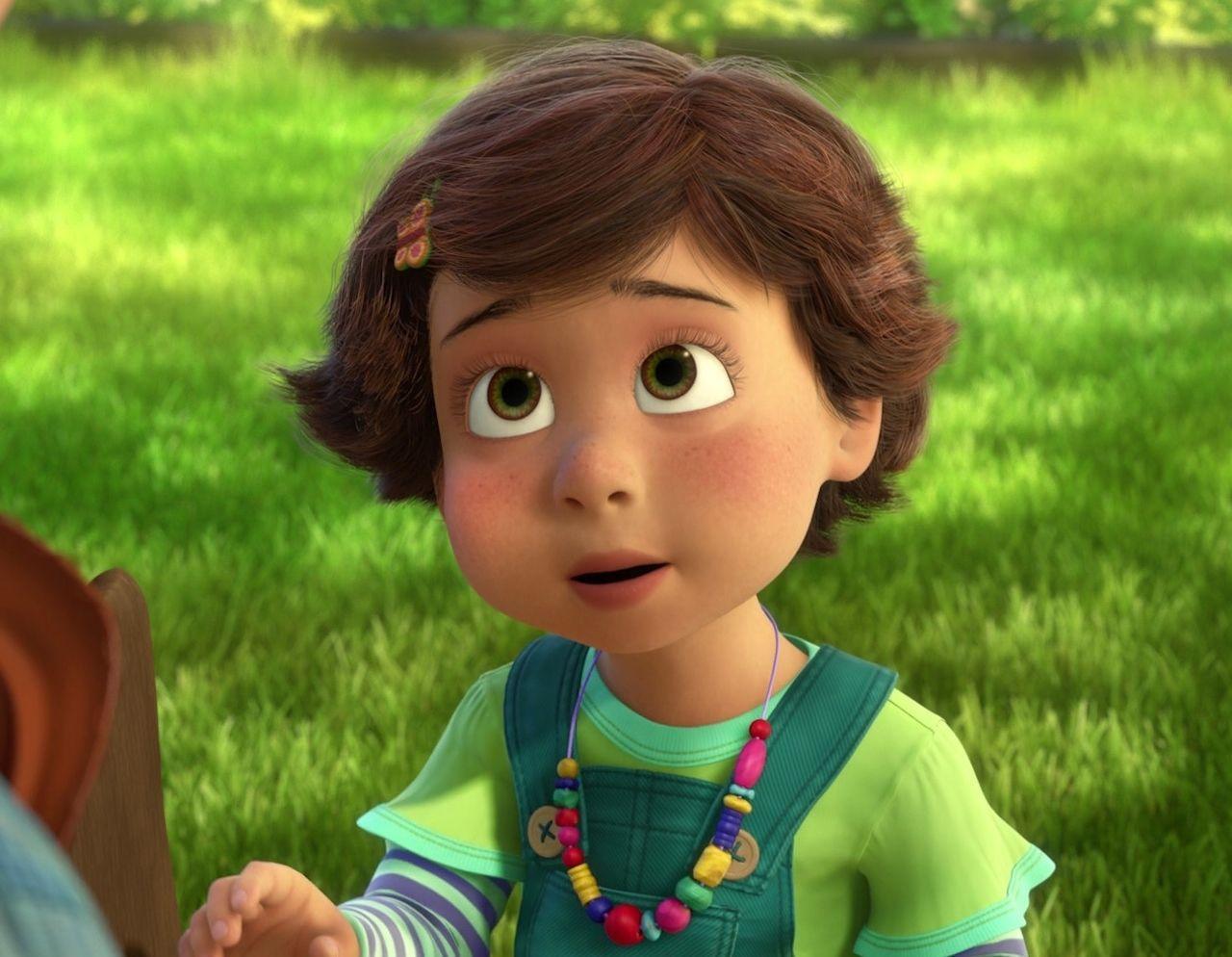 En Toy Story 3, ¿Cómo se llama esta niña?
