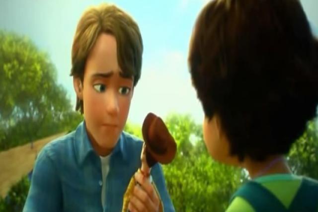 En Toy Story 3, ¿Qué es lo ultimo que le dice Andy a Woody de despedida?