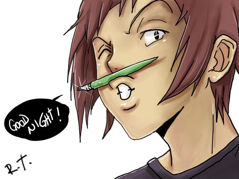 Personaje loco que es el máximo rival de Ashirogi Muto.