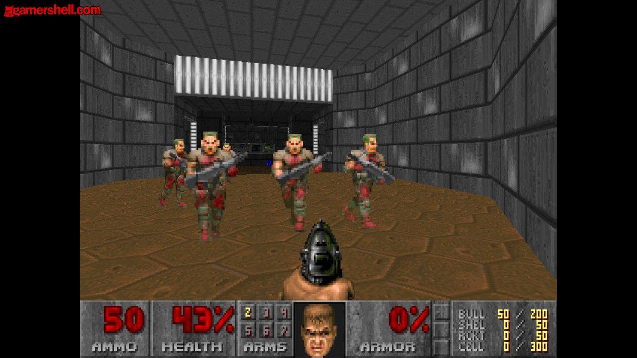 El videojuego de disparos Doom 2 , ¿cuántas armas tiene en total?