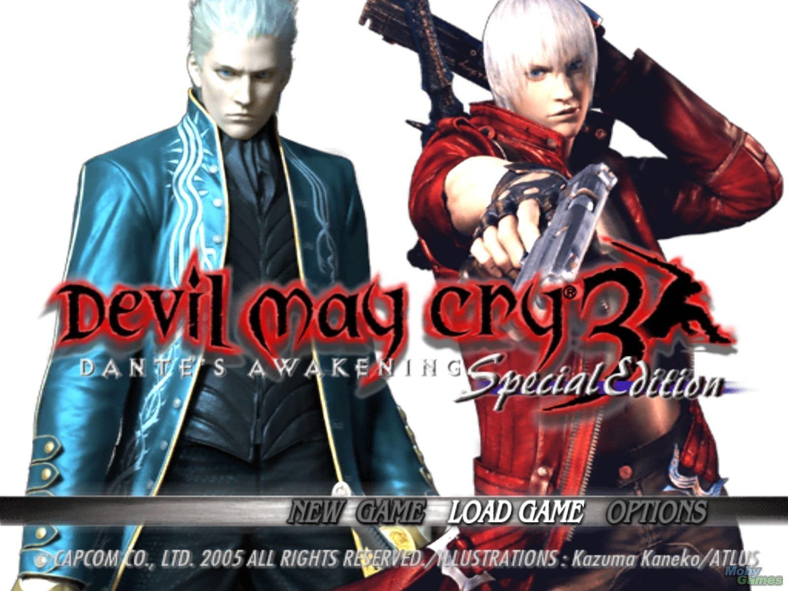 ¿Por qué Capcom publicó una edición especial de Devil May Cry 3?