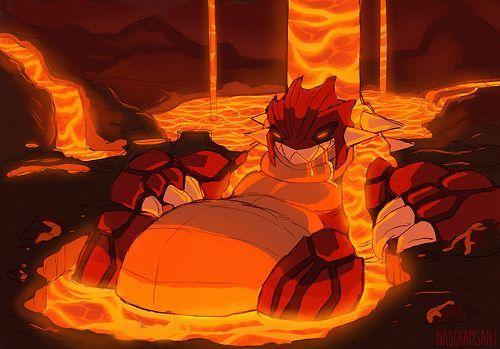 ¿Qué les pasa a Alakazam, Charizard y Tyranitar en la Sima Magma?