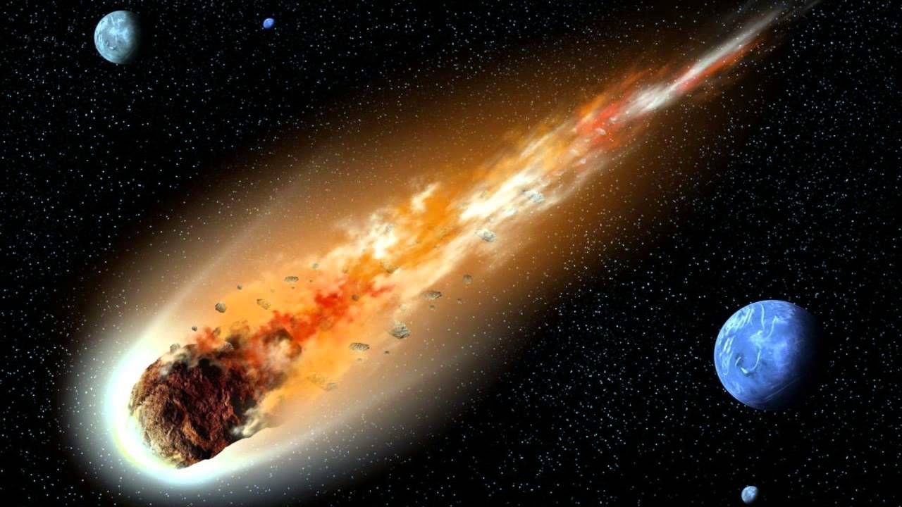 ¿Quién destruye el meteorito que cae sobre el mundo?