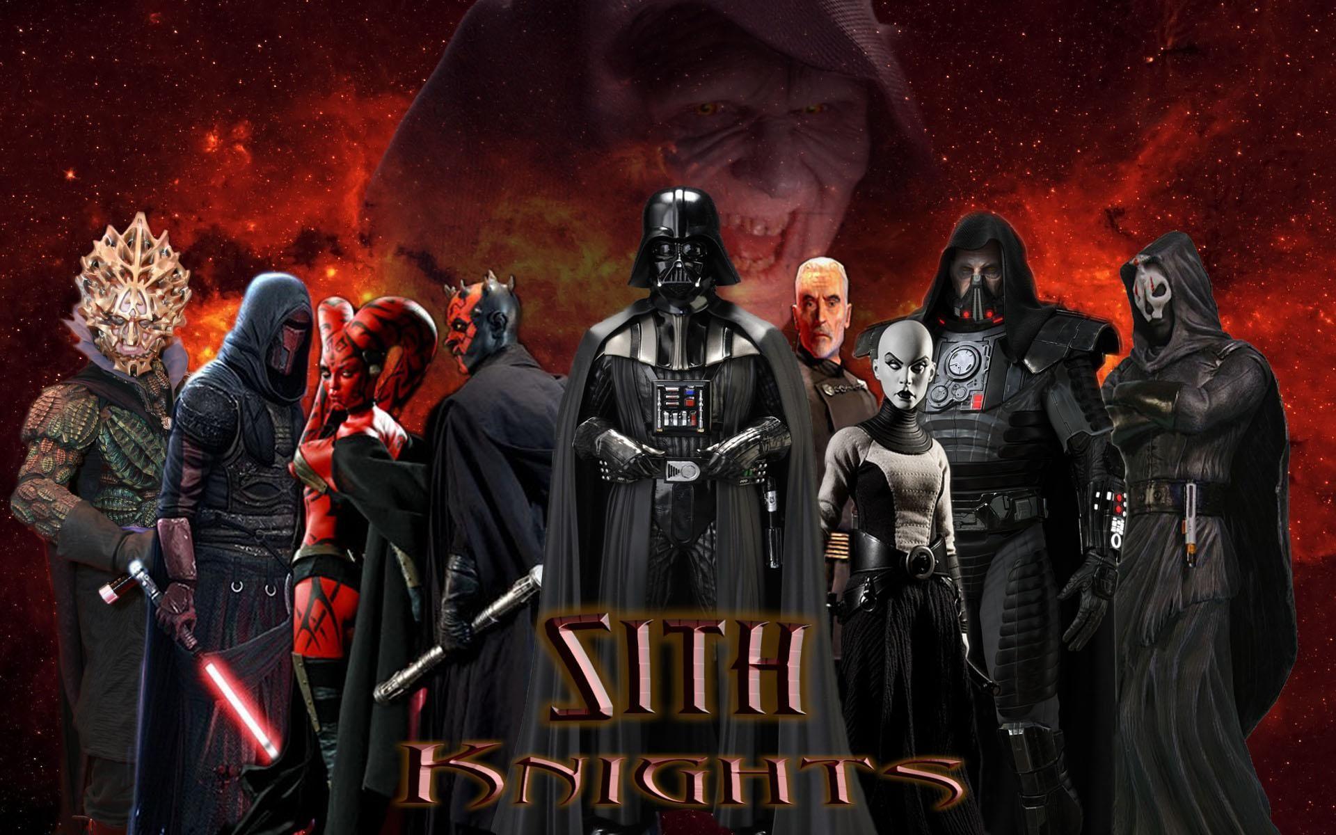 11425 - ¿Cuál de estos Sith serías?