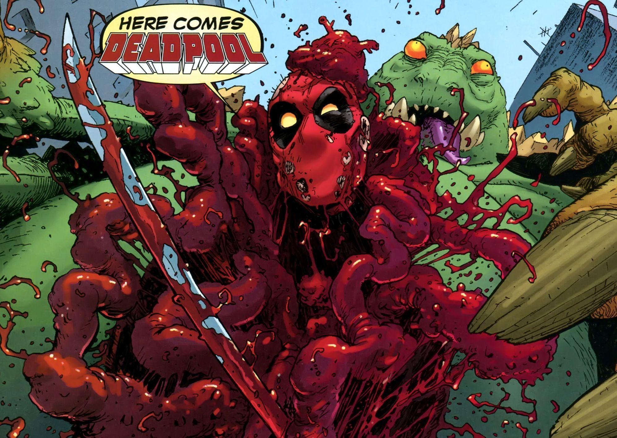 ¿En qué serie de cómics Deadpool decide matar a los guionistas ?