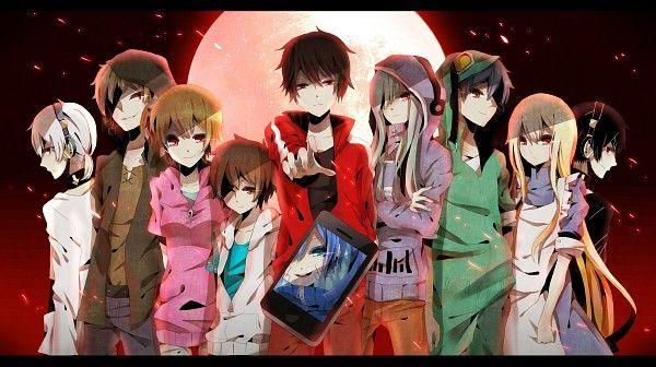 11475 - Personajes de Kagerou Projects