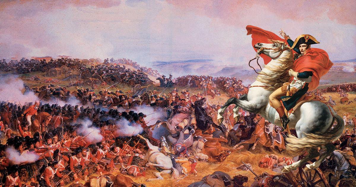 ¿En qué batalla fue derrotado Napoleón Bonaparte?