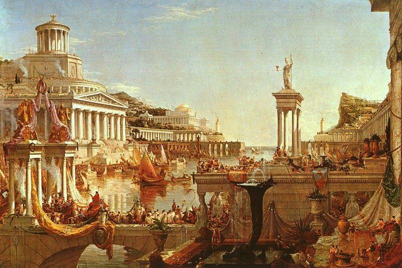 ¿Cuál de estos territorios no fue conquistado por el Imperio Romano?