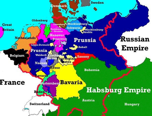 ¿En qué año concluyó la Unificación alemana?
