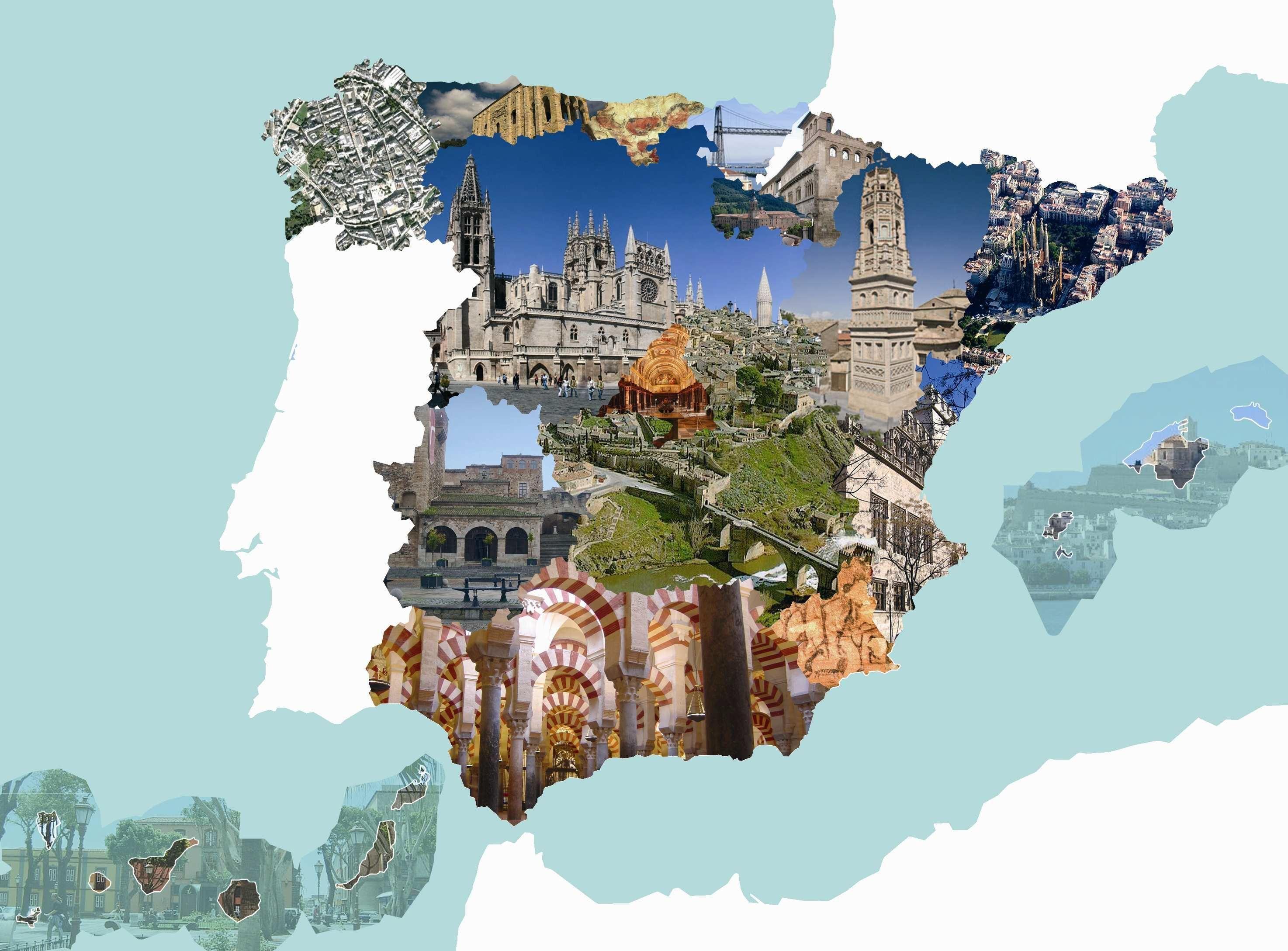 11587 - Monumentos de España. ¿Los reconocerás a todos?