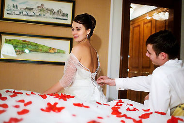 ¿Dónde pasan su primera noche de bodas?