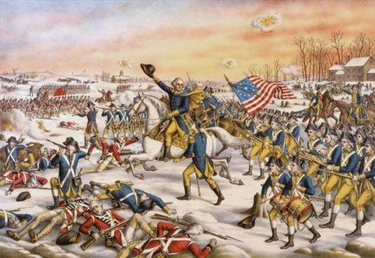 ¿En qué año concluyó la Guerra de la Independencia de los Estados Unidos?