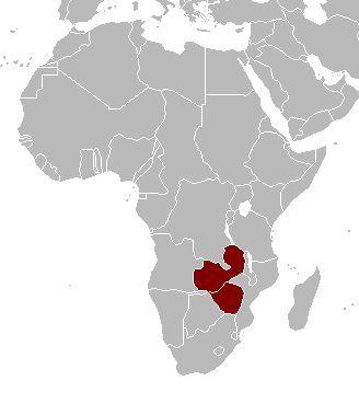 ¿Cómo se llamó la colonia británica correspondiente a los actuales Zambia y Zimbabwe?