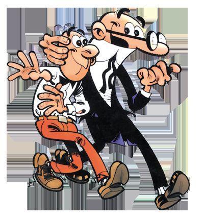 Mortadelo y Filemón, ¿quién es Mortadelo y quíen es Filemón?
