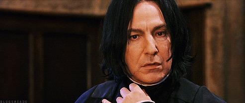 ¿Cuál es la primera aparición de Snape... en el libro?
